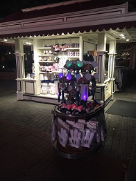 Epcot cart with Made with Magic items
