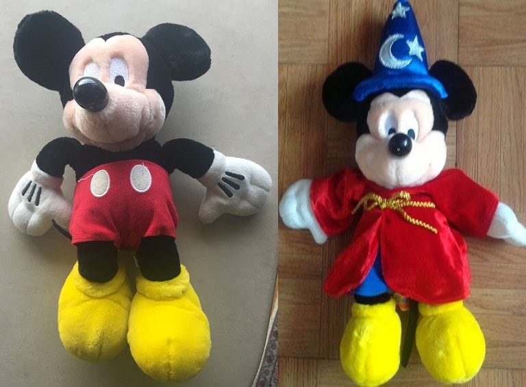 versions 1 and 3 of Pal Mickey