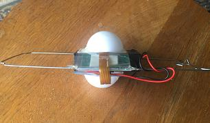Ear Hat v1.6 components on lantern frame